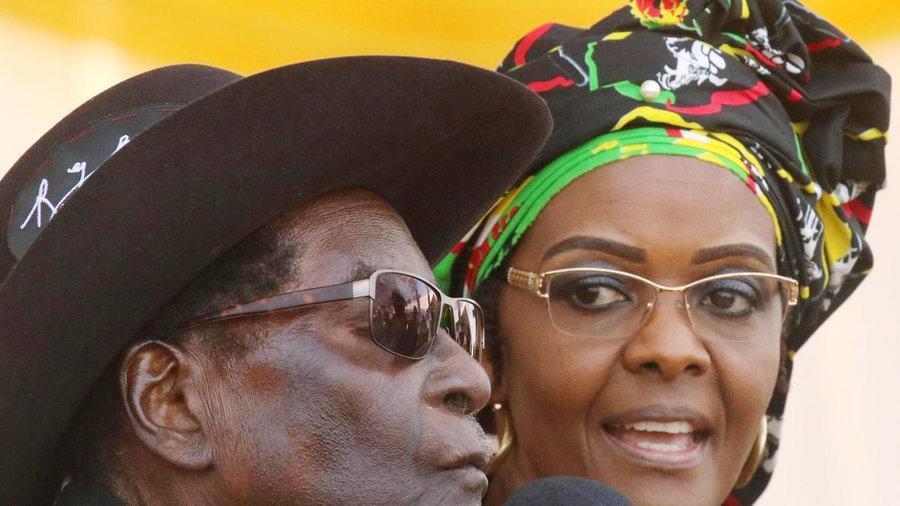 صدور حکم بازداشت همسر رئیس جمهوری پیشین زیمبابوه ، عکس