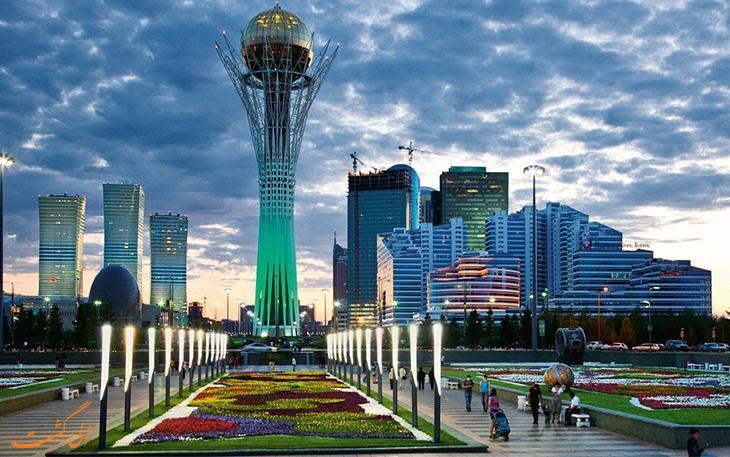 آستانه پایتخت قزاقستان نورسلطان شد