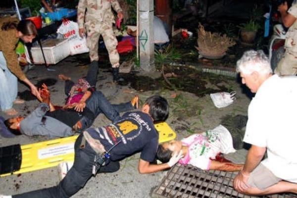 زخمی شدن 24 نفر بر اثر انفجار بمب در بیمارستانی در تایلند