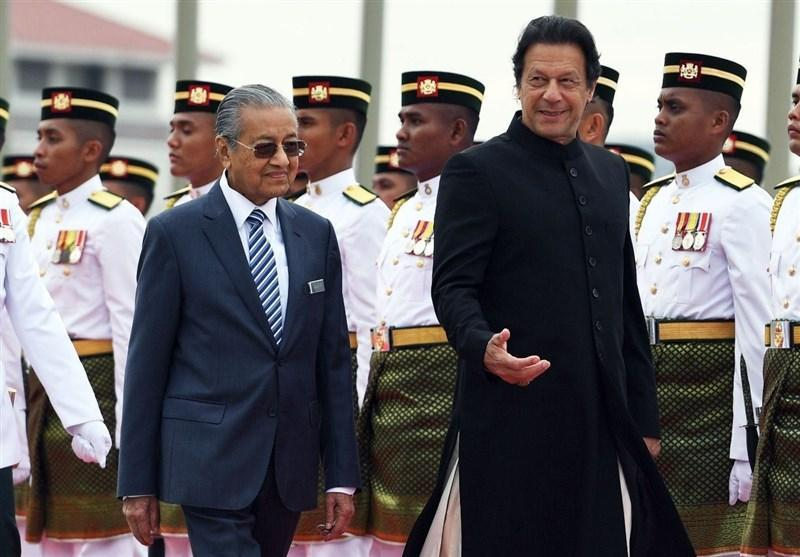 گفتگوی عمران خان و نخست وزیر مالزی درباره معضل کشمیر