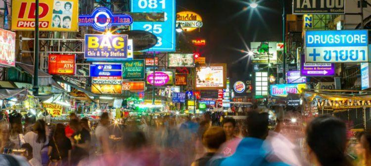 خائو سان، معروفترین خیابان بانکوک