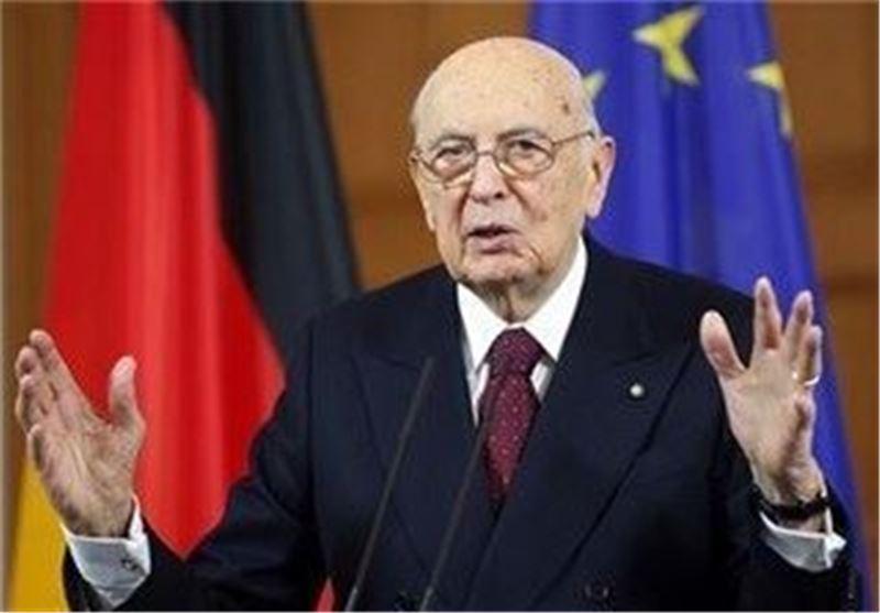 رئیس جمهور ایتالیا شروع به کار پیش از موعد مجلس را نپذیرفت