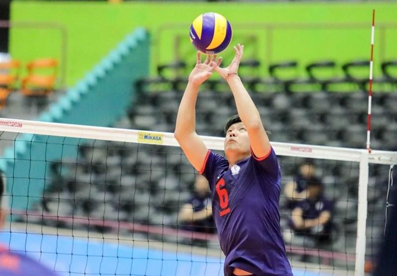 والیبال قهرمانی آسیا، جدال چین و چین تایپه برای صندلی پنجمی