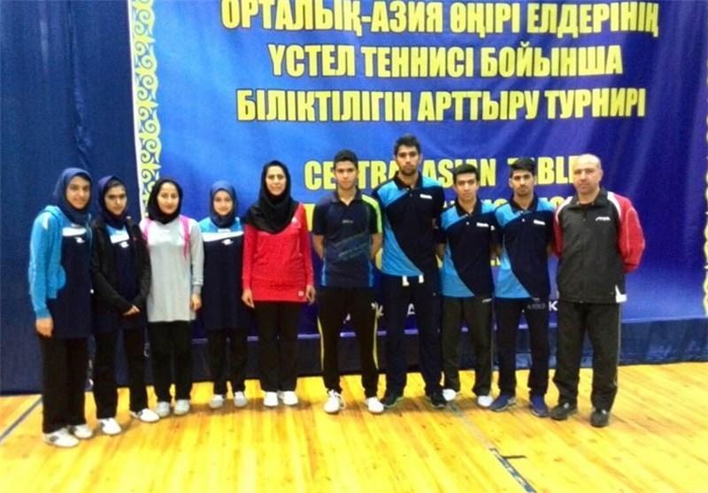 پینگ پنگ بازان جوان و نوجوان ایران راهی مالزی شدند