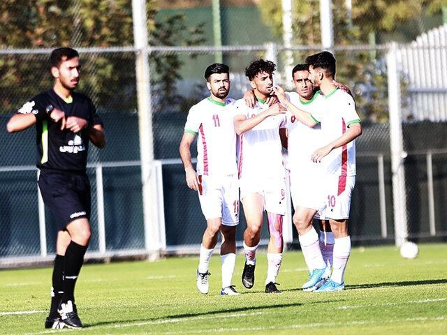 تساوی تیم ملی فوتبال امید مقابل اندونزی