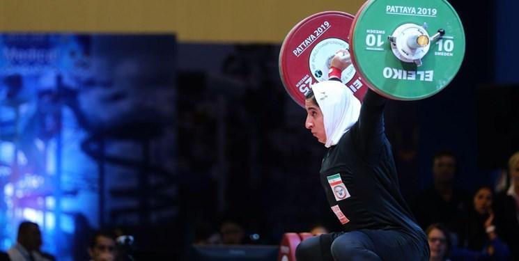 نخستین مدال وزنه برداری بانوان ایران کسب شد، مدال برنز تورنمنت ترکیه برای حسینی