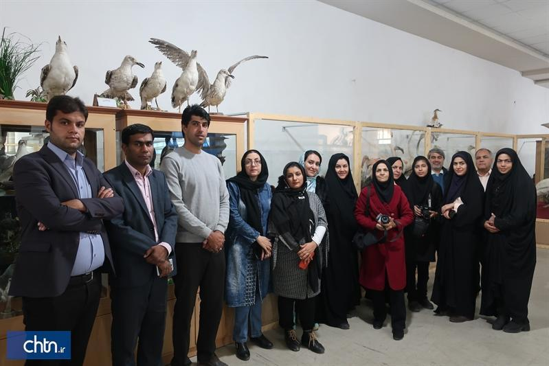 بازدید خبرنگاران از جاذبه های گردشگری بهاباد