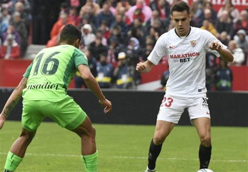 لالیگا، سویا فرصت نزدیک شدن به رئال مادرید را از دست داد