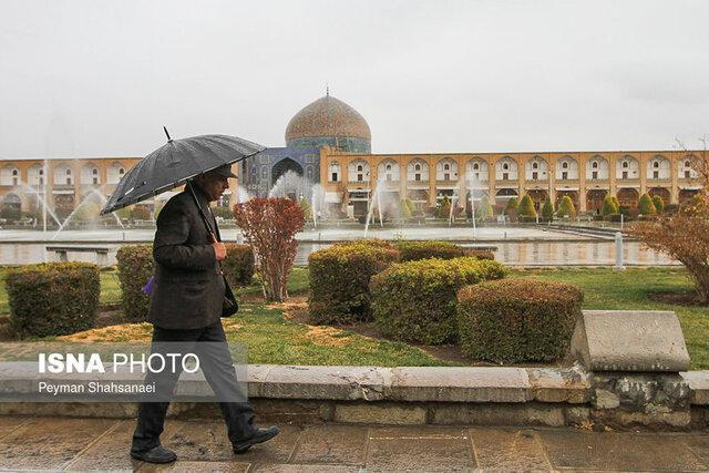 ورود موج ناپایدار به اصفهان در روز آدینه