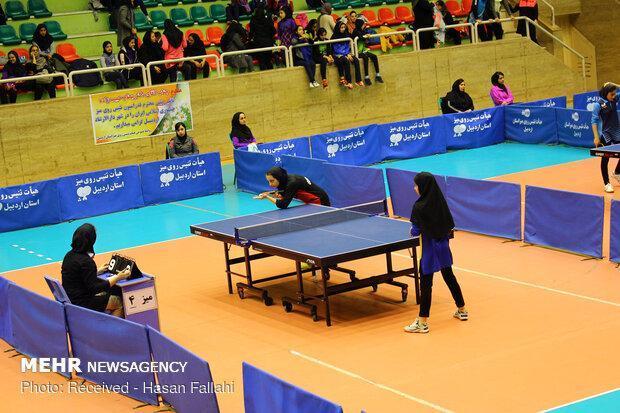 اشتری و صفایی در ترکیب تیم ملی تنیس روی میز بانوان قرار گرفتند