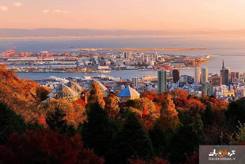 جاذبه های پنهان کوبه؛شهر مدرن ژاپن، عکس