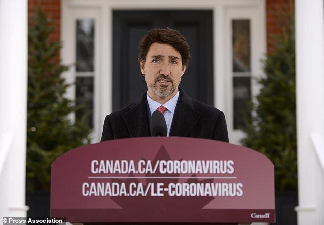 ابراز نگرانی نخست وزیر کانادا از آمار بالای کرونا در آمریکا