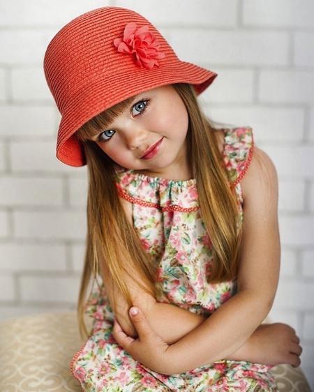 زیباترین دختربچه دنیا