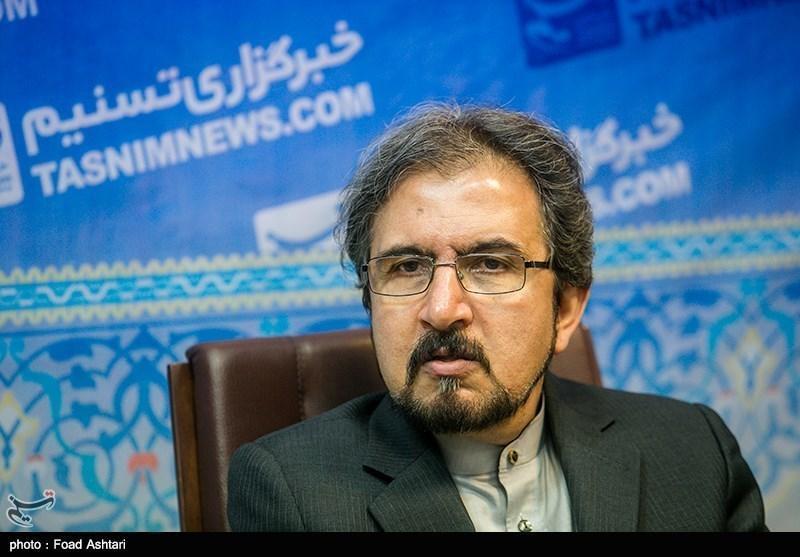 قاسمی: روابط ایران و فرانسه می تواند شاهد گسترش در تمامی همکاری ها باشد
