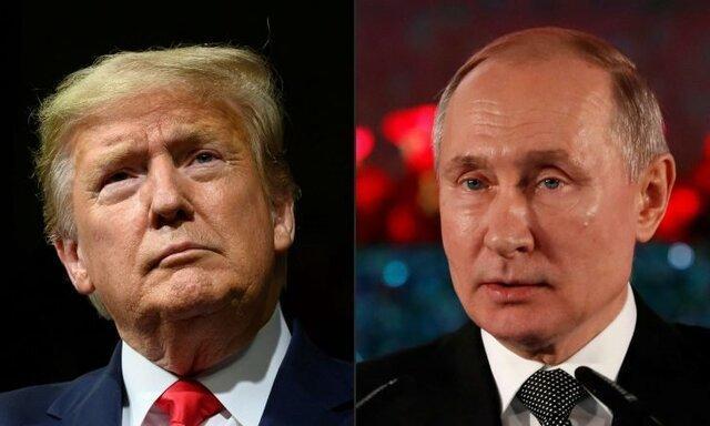 گفتگوی تلفنی ترامپ و پوتین درباره رقابت تسلیحاتی و مقابله با کرونا