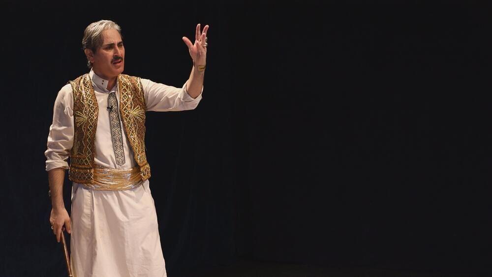 خبرنگاران اجرای طرح نمایش نما با شعار هر روز یک تئاتر