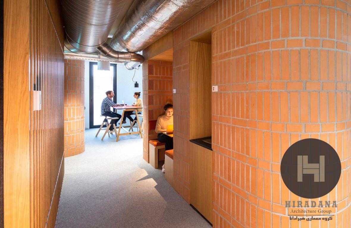 طراحی داخلی و بازسازی دفتر لاسینجر در سوئیس