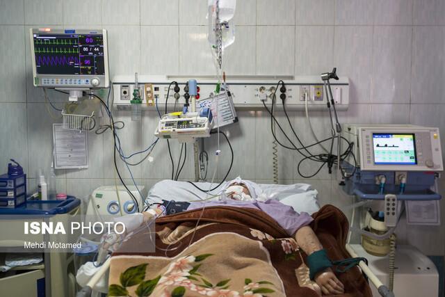 بستری 295 کرونایی در بیمارستان های قزوین