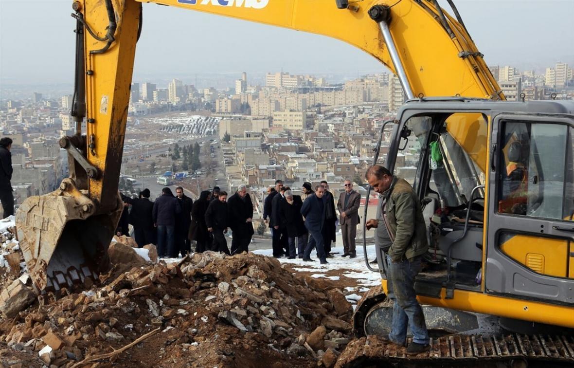 خبرنگاران 6 طرح بازآفرینی شهری در همدان شروع شد