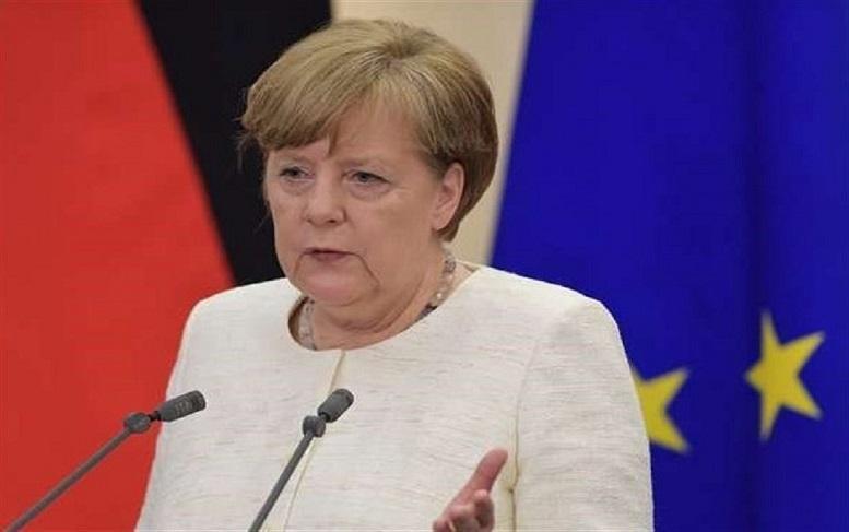 سرفه های مشکوک آنگلا مرکل در نشست اتحادیه اروپا، مرکل مبتلا به کرونا شد؟