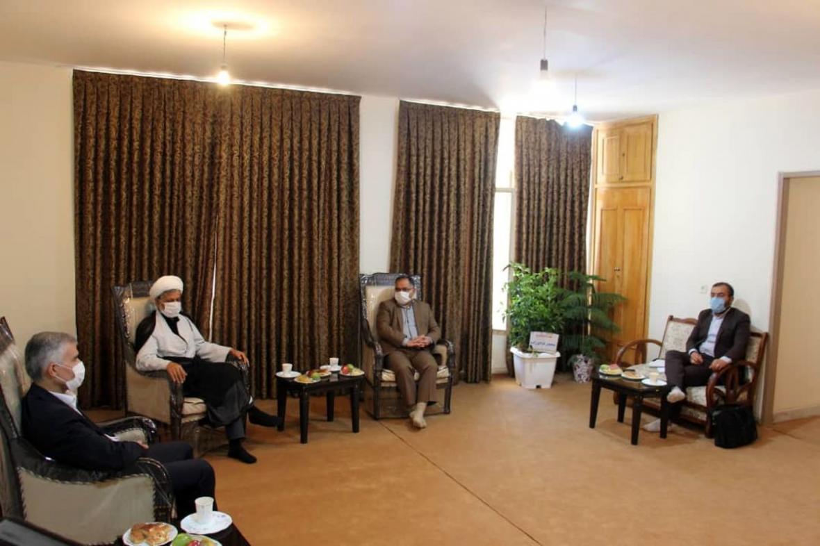 جلسه تعاملی مدیرعامل ذوب آهن و مسئولین شهرستان لنجان