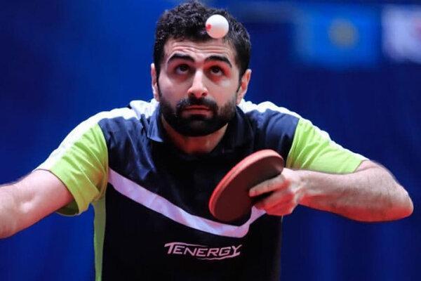 شکست نوشاد عالمیان و هم تیمی هایش در لیگ تنیس روی میز فرانسه