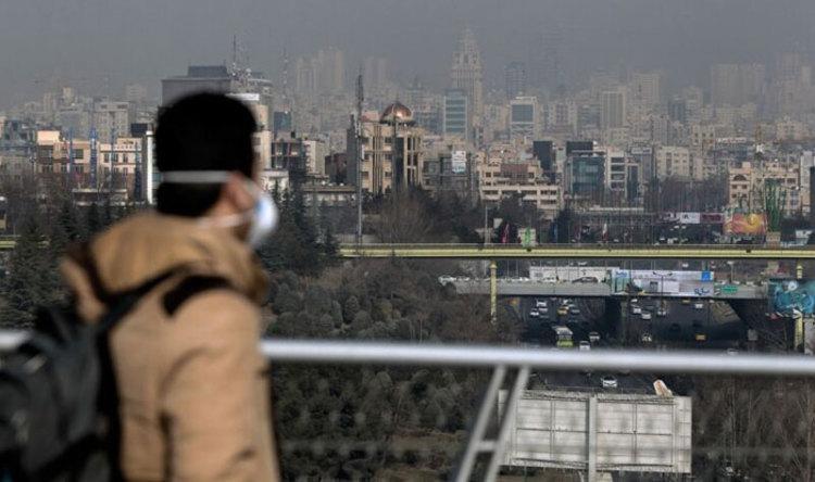 کیفیت نامطلوب هوا در تهران برای چهارمین روز پیاپی