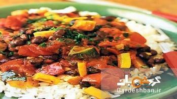 دمی هندی با بال مرغ یک غذای تند و خوشمزه