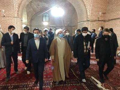 حفاظت و بازسازی مسجد تاریخی جامع مرند در دستور کار میراث فرهنگی آذربایجان شرقی