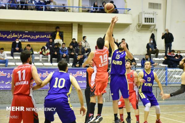 ادامه دیدارهای بدون باخت وبرد شهرداری گرگان وخانه بسکتبال خوزستان