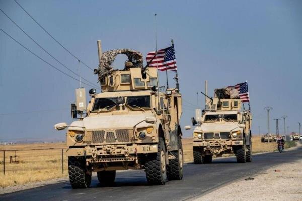 ورود کاروان لجستیک آمریکا از عراق به سوریه