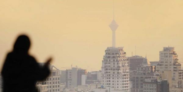 هوای تهران آلوده شد، کمترین دمای هوای پایتخت خبرنگاران