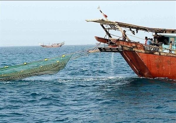 توقیف 5 شناور صیادی در خلیج فارس