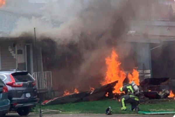 یک جنگنده نیروی هوایی بولیوی سقوط کرد، 3 نفر کشته و زخمی شدند