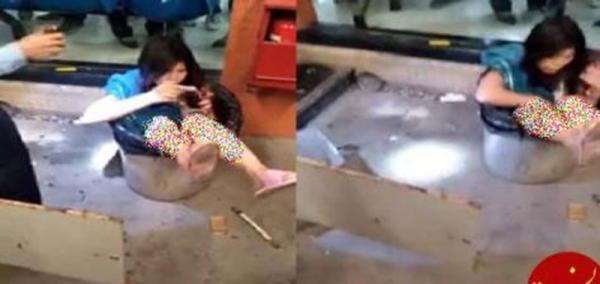 مردی که همسرش را داخل سطل زباله انداخت!، عکس