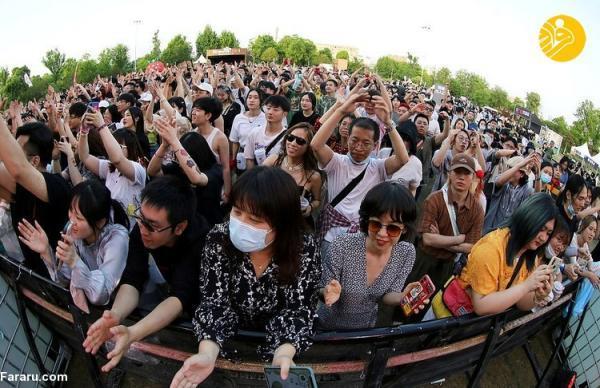 (تصاویر) جشنواره موسیقی پرشور در ووهان چین