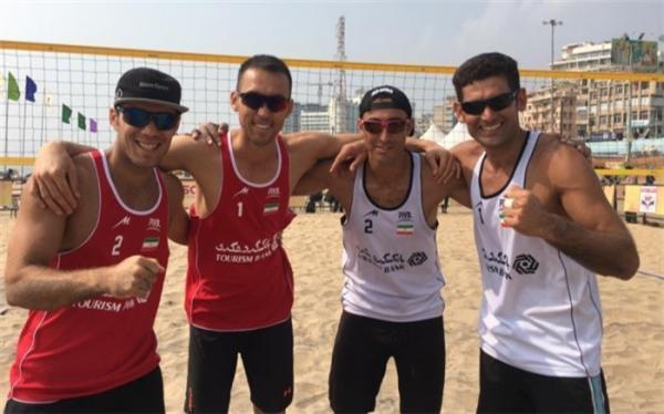 تور جهانی والیبال ساحلی بلغارستان؛ رقیب های ایران معرفی شدند