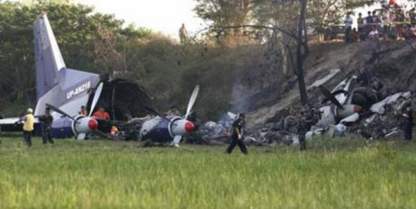 تلفات سانحه هوایی فیلیپین به 45 تن رسید