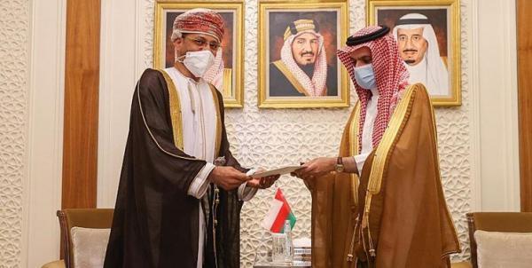 پیغام مکتوب سلطان عمان به شاه سعودی درباره یمن