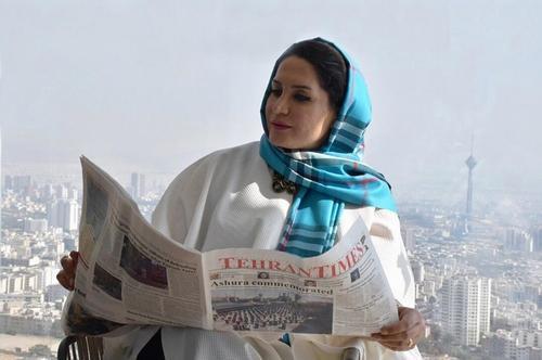 مصیح جعفرزاده این روز ها مادر موفقیت ایران است